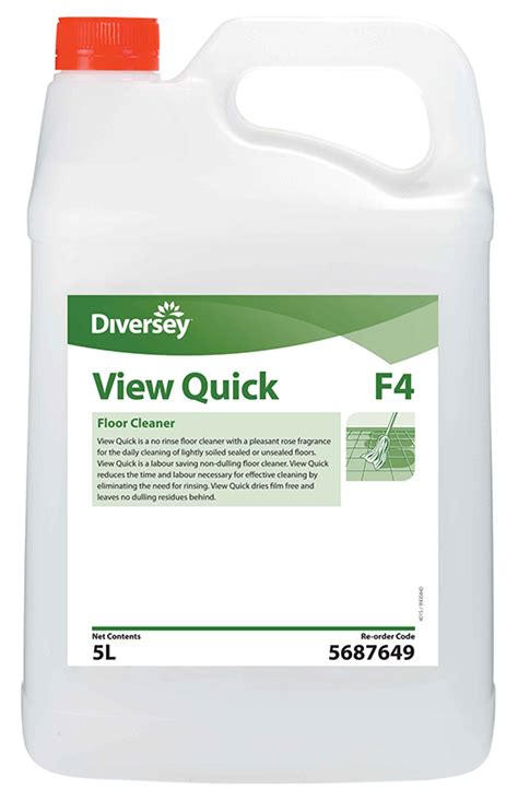 view quick no rinse floor cleaner 5l jo5687649