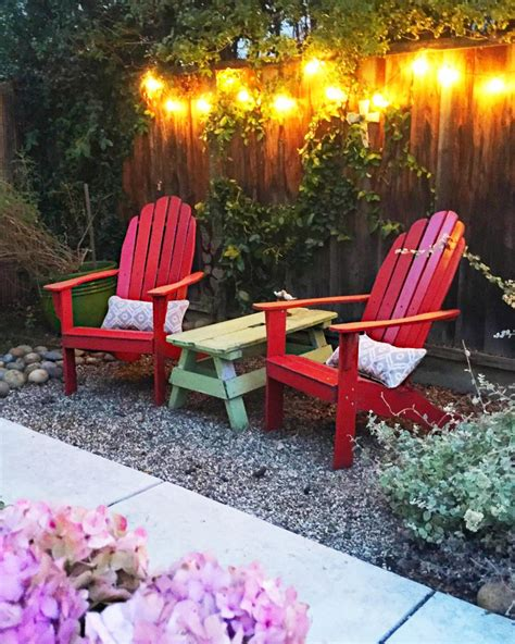 Small Space Backyard Ideas by 25 Budget Ideas For Small Outdoor Spaces Hgtv