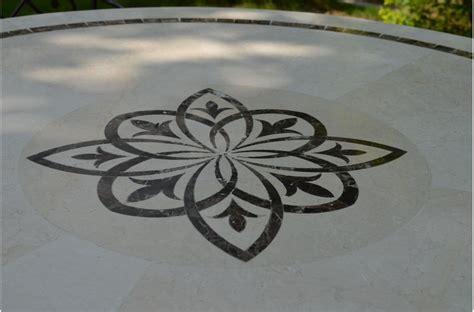 table ronde de cuisine marbella table ronde 125cm en mosaïque emperador et