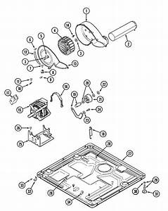 Motor Drive Diagram  U0026 Parts List For Model Mde3000ayw Maytag