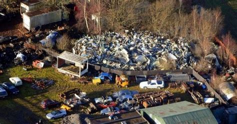 Boat Salvage Yard Mobile Al by Wreck Of Lockerbie Plane Which Claimed Of Hexham