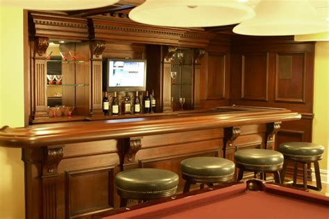 Residential Bars by Residential Bar Nj Traditional Home Bar Newark By