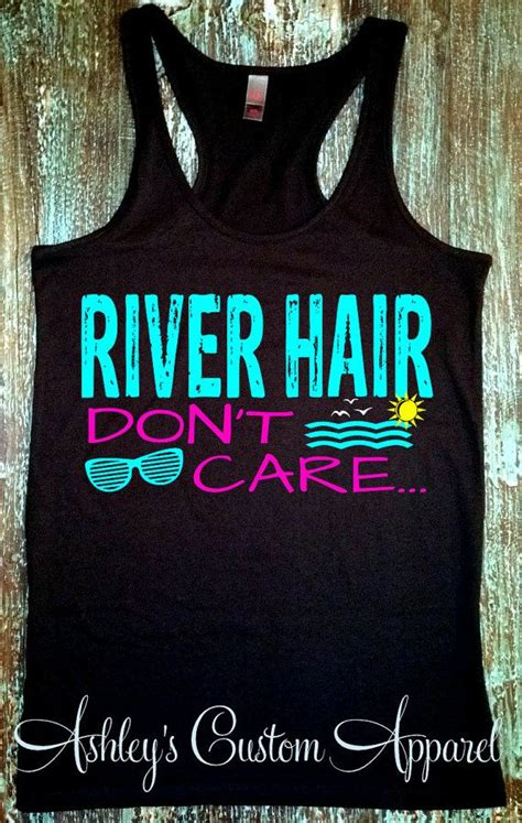 river hair dont care summer tank top river tanks river