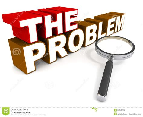 The Problem Stock Illustration Illustration Of Assess