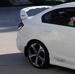 Pro Design Trm Style Spoiler    Wing For 2014 Honda Civic