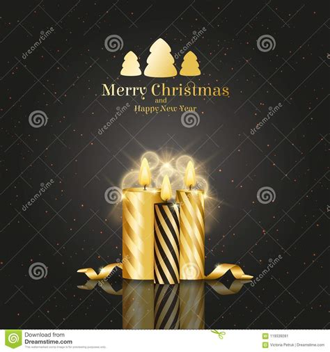 Free merry christmas vector download in ai, svg, eps and cdr. Brochure On Merry Christmas And Happy New Year Theme Stock ...