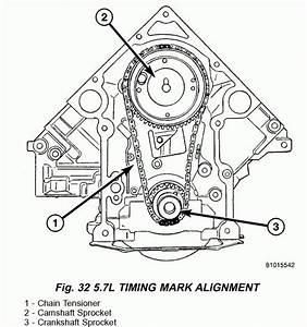 2004 Dodge 5 7 Hemi Engine Timing Marks  2004  Engine
