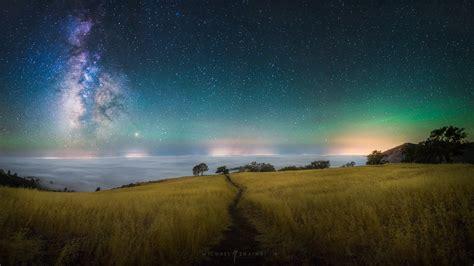 California Milky Way Night Sky Astrophotography