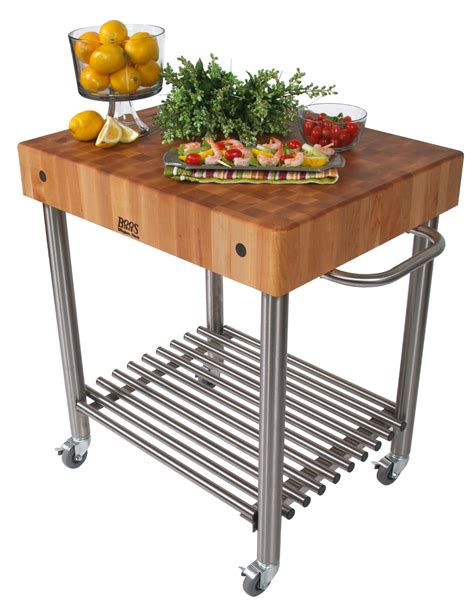 kitchen island cart butcher block butcher block kitchen carts boos catskill 8150