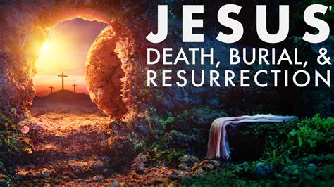 jesus death burial resurrection metro praise