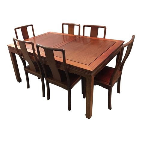 rosewood dining table 6 chairs design plus gallery