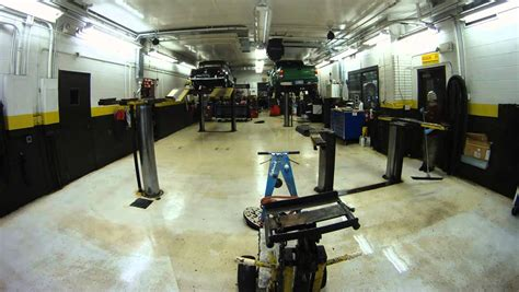 timelapse how to clean a mechanic shop fast and efficiently