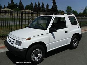 1997 Geo Tracker Right Hand Drive