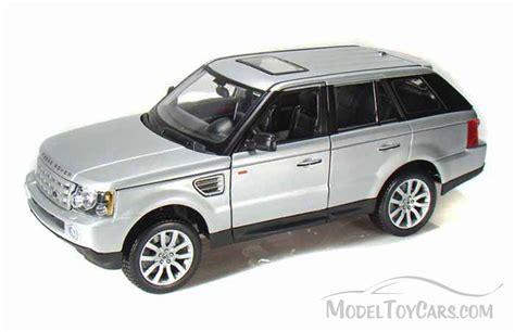 toy range rover range rover sport suv silver maisto 31135 1 18 scale