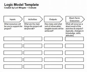 logic model template 11 download documents in pdf word With logic model template microsoft word