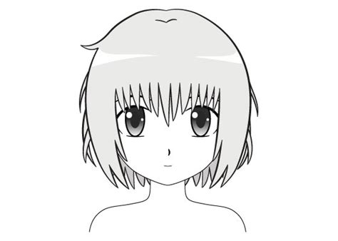 draw anime  manga hair female animeoutline