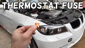 Bmw Overheating  Thermostat Fuse Location And Replacement