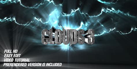 cinema titles template torrent after effects project videohive the clouds cs4 trailer