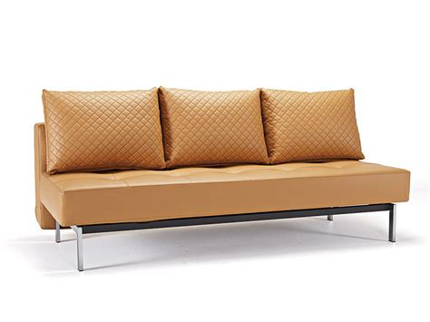 Contemporary Leather Sofa Bed by Deluxe Contemporary Camel Leather Sofa Bed Buffalo New