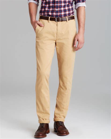 Lyst - Gant Rugger Slim Fit Chino Pants in Brown for Men