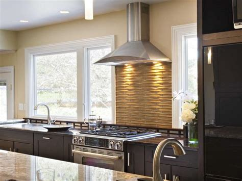 kitchen stove backsplash ideas pictures tips  hgtv