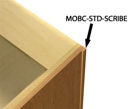 what is scribe molding for kitchen cabinets scribe molding