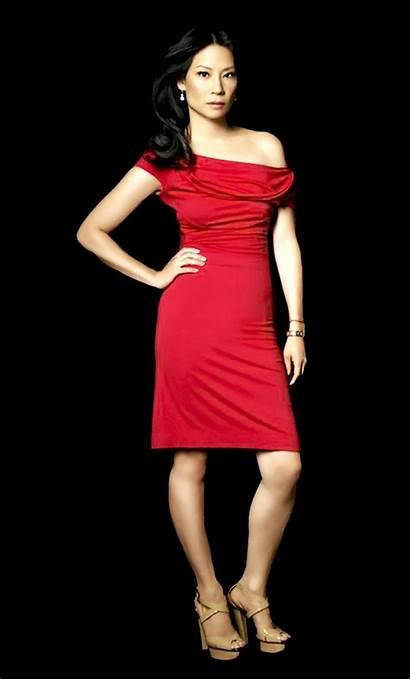 Lucy Liu Photoshoot Asian Watson Dresses Woman