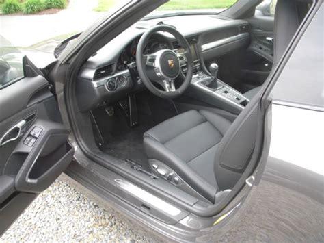 porsche agate grey interior 2013 porsche 911 carrera s coupe 2 door 3 8l manual