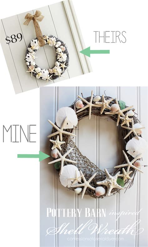 diy shell garland confessions   serial   yourselfer