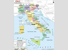 Maps of Italy 40th Birthday Celebration Italy