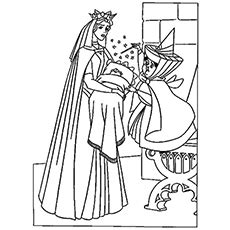 top   printable sleeping beauty coloring pages