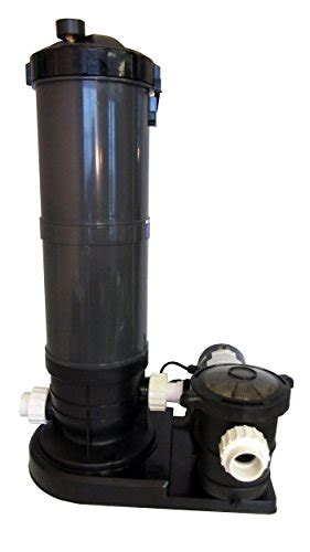 ground swimming pool cartridge filter system