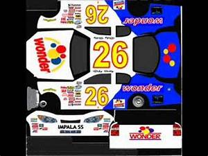 NASCAR 09 Paint Booth Cars (I created) - YouTube