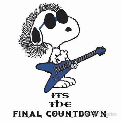 Countdown Final Snoopy Clipart Its Europe Meme