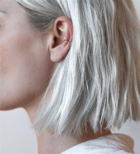 piercing oreille conch swy studio minimal ear cuff piercing piercings piercing oreilles et cheveux