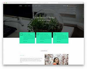 20 free portfolio website templates for all creative With virb templates