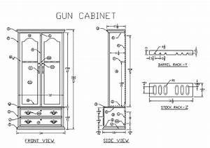 Wooden vertical gun rack plans Diy ~ Adam kaela