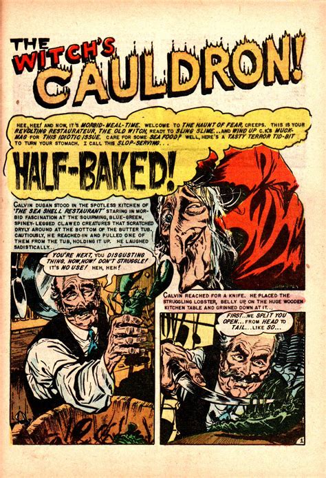Read online Tales From The Crypt (1950) comic - Issue #40