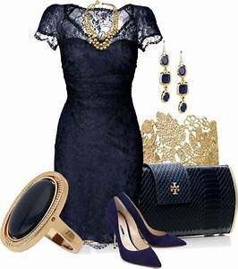 elegant navy blue dress with gold accessories things i With how to accessorize a navy blue dress for a wedding