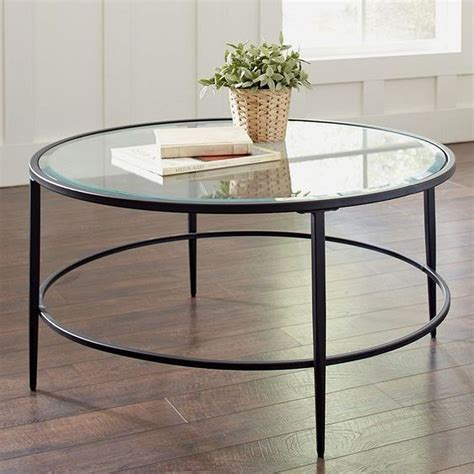The coffee table is the piece of resistance in the living room. 20+ Brilliant Round Glass Coffee Table Designs Ideas For ...