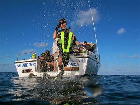tanks  lot dive charters recreation clearwater