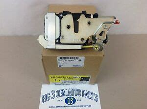 02 09 chevrolet trailblazer gmc envoy lh front door latch actuator lock new ebay