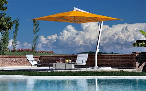 Large Fim Cantilever Patio Umbrella by Patio Umbrella Offset