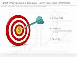 P Chart Template Ppt Target Pricing Sample Template Powerpoint Slide