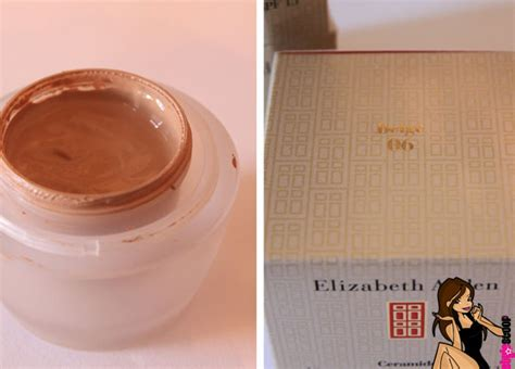 elizabeth arden ceramide lift  firm makeup reviews