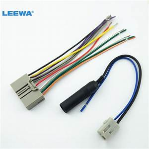 Car Audio Cd Player Radio Audio Stereo Wiring Harness