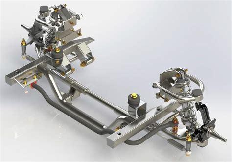 mopar independent front suspension system    body