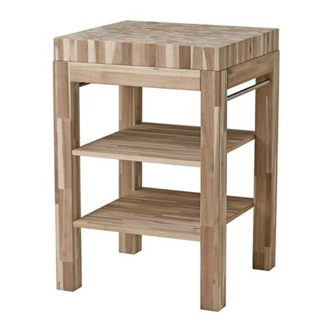 Ikea Skogsta Butcher's Block Table Acacia 64x60 Cm The
