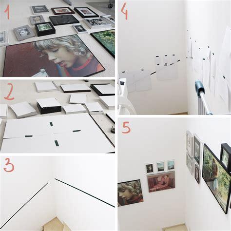 Mehrere Bilder Aufhängen by Diy Freutag Tutorial Bilder An Der Treppe Anbringen