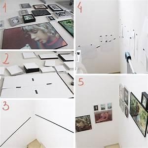 Fotos Schön Aufhängen : diy freutag tutorial bilder an der treppe anbringen ~ Lizthompson.info Haus und Dekorationen
